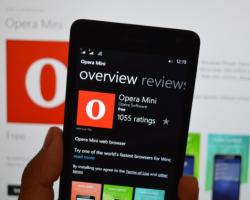 Браузер Opera Mini для Windows Phone научился блокировать рекламу