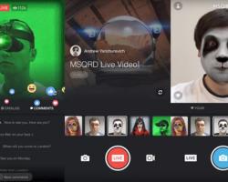 Facebook встроит в сервис Facebook Live функцию замены лиц из приложения MSQRD