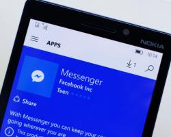 Facebook Messenger для Windows 10 Mobile получил крупное обновление