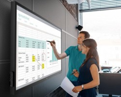 Компания Dell выпустила 70-дюймовый интерактивный монитор
