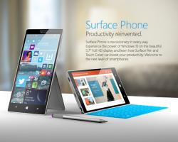 Свежие подробности о Surface Phone
