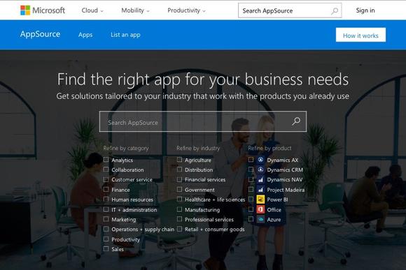 Microsoft откроет новый магазин для приложений для корпоративных клиентов