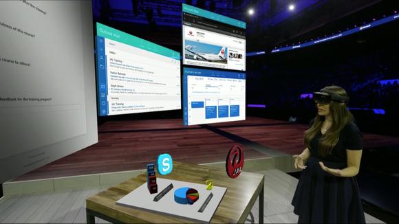 Microsoft показала, как будет выглядеть офис будущего с HoloLens