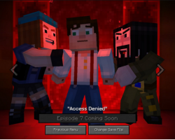 Игра Minecraft: Story Mode доступна бесплатно на ОС Windows 10