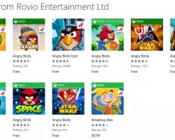 Студия Rovio отказалась от Angry Birds на Windows Phone и Windows