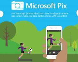 Microsoft Pix— «умное» приложение камеры для iOS
