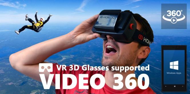 Обновление Video 360 содержит фото и поддержку устройств виртуальной реальности