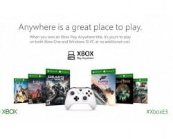 Поддержка Xbox Play Anywhere будет неувсех игр отMicrosoft Studios