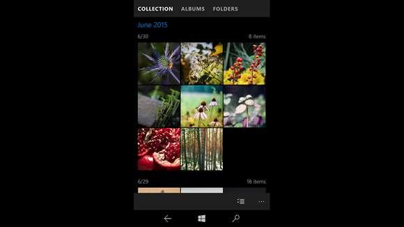 Microsoft тестирует обновление Photos для WP