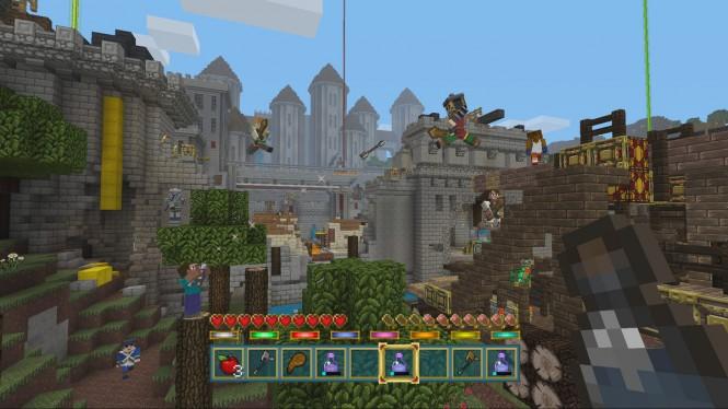 Minecraft для Xbox One получила 2 DLC