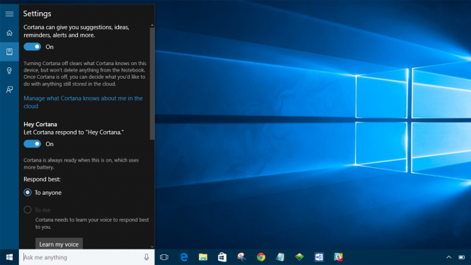 С 2 августа в Windows 10 будет невозможно отключить Cortana