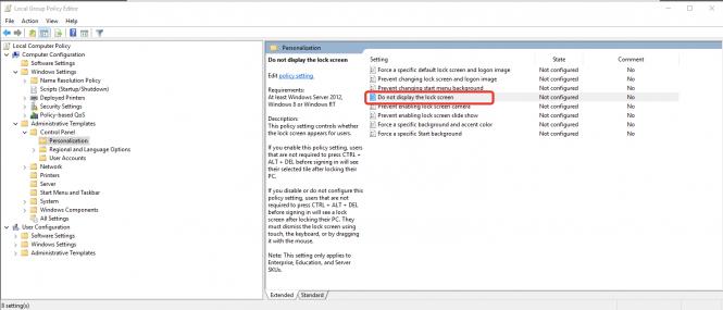 Microsoft отключит некоторое политики в Windows 10 Pro