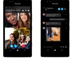 Выпущено универсальное приложение Skype для Windows10 Mobile