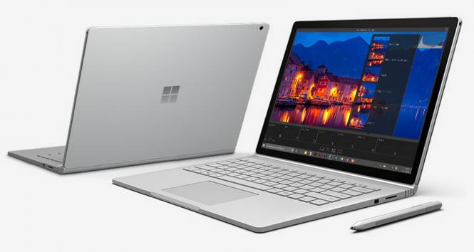 Microsoft обновила прошивку Surface