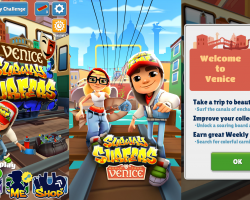 В Subway Surfers новая локация — Венеция