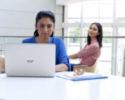 HP представила экран, защищающий от визуального хакерства