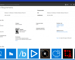 Увеб-версии магазина Windows изменился дизайн