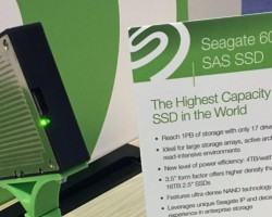 Компания Seagate представила SSD срекордным объёмом памяти— 60ТБ