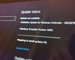 Вышла первая тестовая сборка Windows 10 Redstone 2