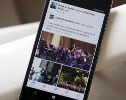 Приложение Facebook для Windows 10 Mobile вышло из статуса бета-версии