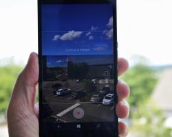 В стандартной камере на Windows 10 Mobile появилась поддержка панорамной съёмки