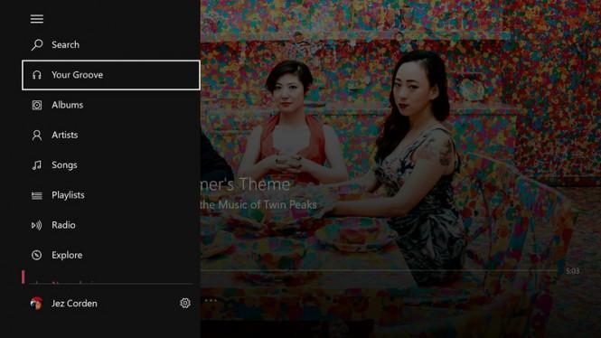 Разработчики Groove Music добавили фоновое прослушивание музыки в Xbox One