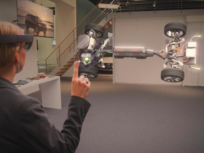 Volvo будет использовать Microsoft Hololens для демонстрации автомобилей