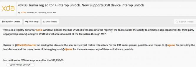 Вышел Interop Unlock для всех смартфонов на Windows 10