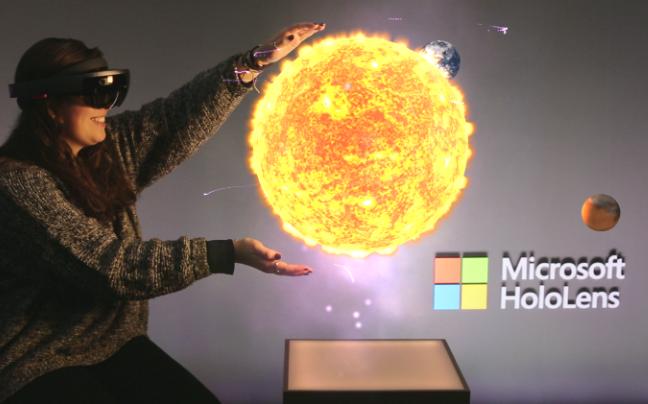 NASA проводит голографические экскурсии по Марсу с помощью Microsoft HoloLens
