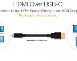 Устройства сразъёмами USB Type-C можно будет напрямую подключать кмониторам ителевизорам