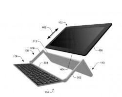 Microsoft запатентовал новую клавиатуру для планшетов