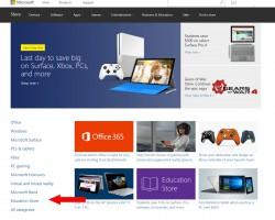 Упоминание Lumia пропало с главной страницы интернет-магазина Microsoft