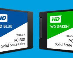 Western Digital представил первые всвоей истории SSD-накопители