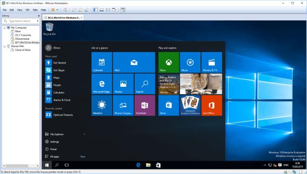 Microsoft выпустила новые виртуальные машины Windows 10 для разработчиков