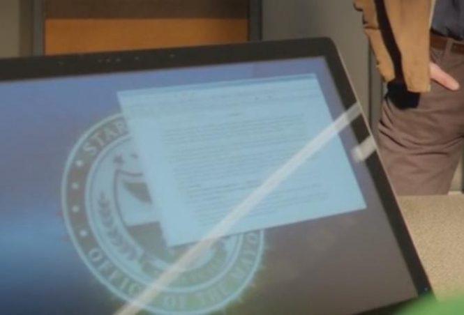 Моноблок Surface показали в сериале «Стрела»?