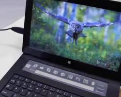 Компания Apple украла идею сенсорной мини-панели для клавиатуры уMicrosoft?