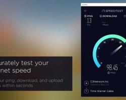 На Windows 10 появилось приложение Speedtest от Ookla