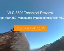 У VLC появилась поддержка 360-градусных видео