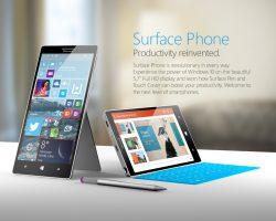 Стало известно, кто займётся выпуском Surface Phone