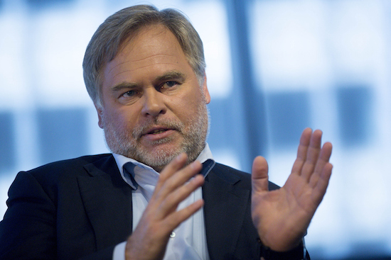 Eugene Kaspersky, chairman, chief executive officer and founder of Kaspersky Lab, speaks during an interview in Washington, D.C., U.S., on Thursday, March 12, 2015. Kaspersky Lab, whose founder used to woork for the KGB, sells security software, including antivirus programs recommended by big-box stores and other U.S. PC retailers. Photographer: Andrew Harrer/Bloomberg via Getty Images