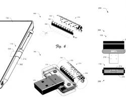 УMicrosoft появился патент настилус спитанием отUSB