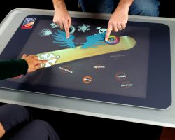 Microsoft снова разрабатывает сенсорный стол