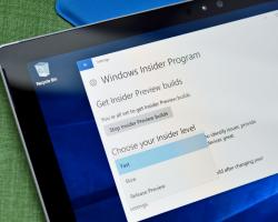 Программа Windows Insider заморожена