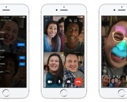 Facebook Messenger начал поддерживать групповые видеозвонки