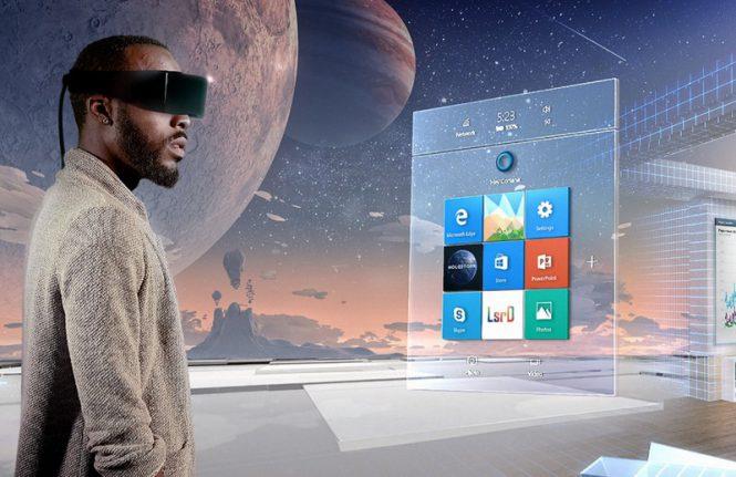 Интерфейс для VR-шлема в Windows 10
