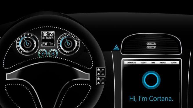 Cortana в BMW