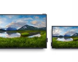 Dell выпустит 55 и 86-дюймовые сенсорные 4К-мониторы