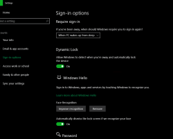 В Windows 10 введена динамическая блокировка