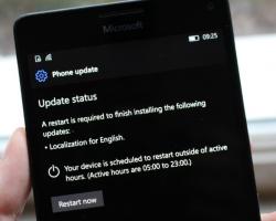На Windows 10 Mobile случайно прилетела сборка 14998