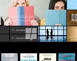 Вмагазине Windows будут продаваться книги